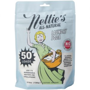 Nellie's Laundry Soda 50 Load Pouch