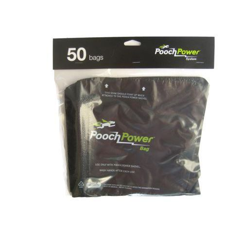 Pooch Power Waste Bags, 50 Pk Shovel Vacuum