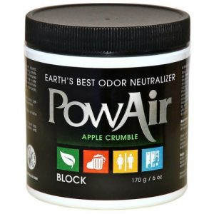 Pow Air,  6oz,      Neutralizer Block - Apple Crumble