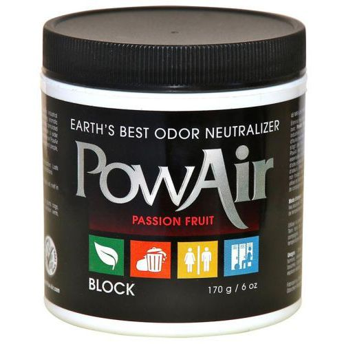 Pow Air,  6oz,      Neutralizer Block - Passion Fruit