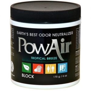 Pow Air,  6oz,      Neutralizer Block - Tropical Breeze