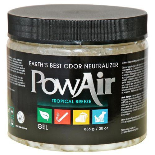 Pow Air,   15oz,    / 500Ml Neutralizer Gel - Tropical Breeze