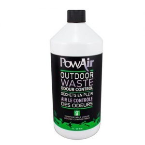 Pow Air Outdoor Compostable Waste Odor, Control Liquid