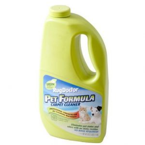 Rug Doctor Carpet Cleaner, 40 Oz Pet Formula Green