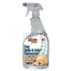 Stain-X Cleaner, 32 Oz Stain-X Pro Pet Stain & Odor Remover