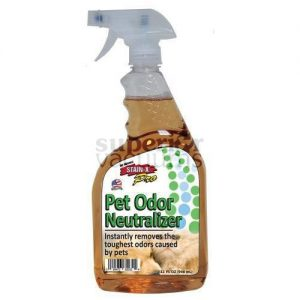 Stain-X Cleaner, 32 Oz Stain-X Pro Pet Odor Neutralizer Spray