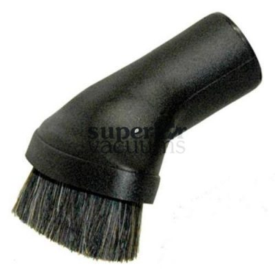 "Fitall Dusting Brush, 1 1/4"" Premium Natural Bristle - Black"
