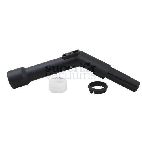 "Fitall Hand Grip, 1 1/4"" Fitall Plastic Friction Fit - Black"
