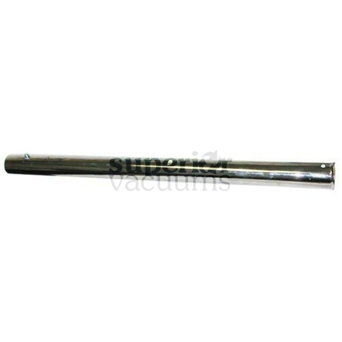 "Fitall Straight Wand, 1 1/4"" Button Top & Bottom18.5"" - Chrome"