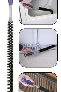 Vent Brush Translucent Handle