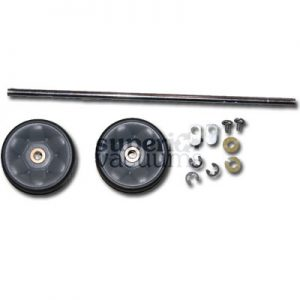 Pro Rear Wheel Assembly Complete Rubber Cpu2 5000 Cpu2T 5000T For New Style With Serial # Starting With 9C007576