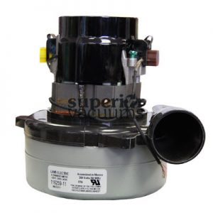 "Motor 2 Stage Bypass Tangential Bearing Bearing 240 Volt 5.7"", Air Seal And Epoxy Carbon Interrupter Plastic Horn 3.7 Amps"
