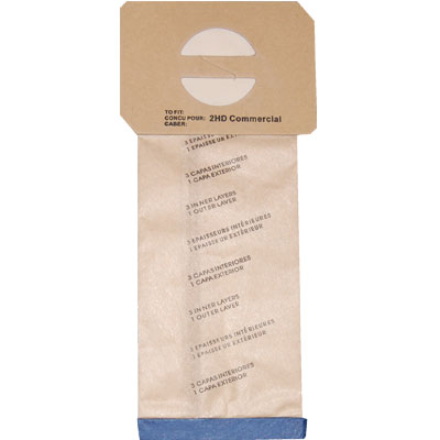 Bag For Commercial Upright Vacdcc2Hd 12 Pack 4 Ply