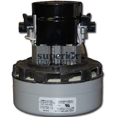 "Motor 2 Stage Bypass Acustek 5.7"", Peripheral Discharge Wet/Dry 120 Volt Epoxy Painted Fan Case Air Sealed Bearing 9.2 Amps 1000 Watts"