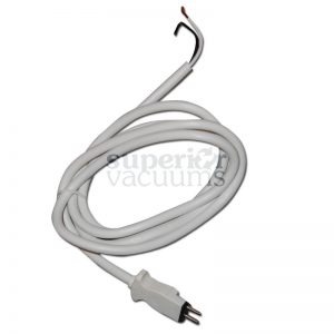 "56"" White 2 Pin Male Polarized Wand Cord"