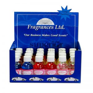 Display Box With An Assortment Of Fragrance Drops, 24 Bottles