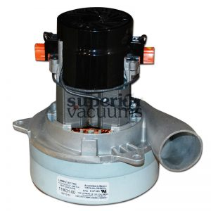 """Motor 2 Stage Bypass Tangential Discharge Bearing Bearing 120 Volt 5.7"""", 515 Air Watts Power High Performance 7.5"""", Height, 14 Amps"""