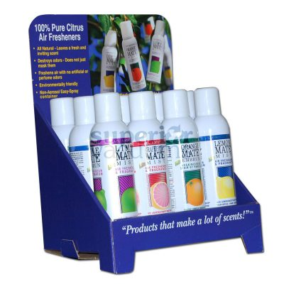 Mate Mist Counter Display 12 Bottle Display Mixed Scents 7Oz Size Bottles