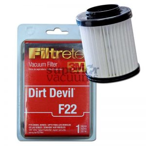Devil Dirt Cup Hepa Filter F26 F22 1Lv1110000 Upright Model 084590 085855 Ud403503M Ud40285