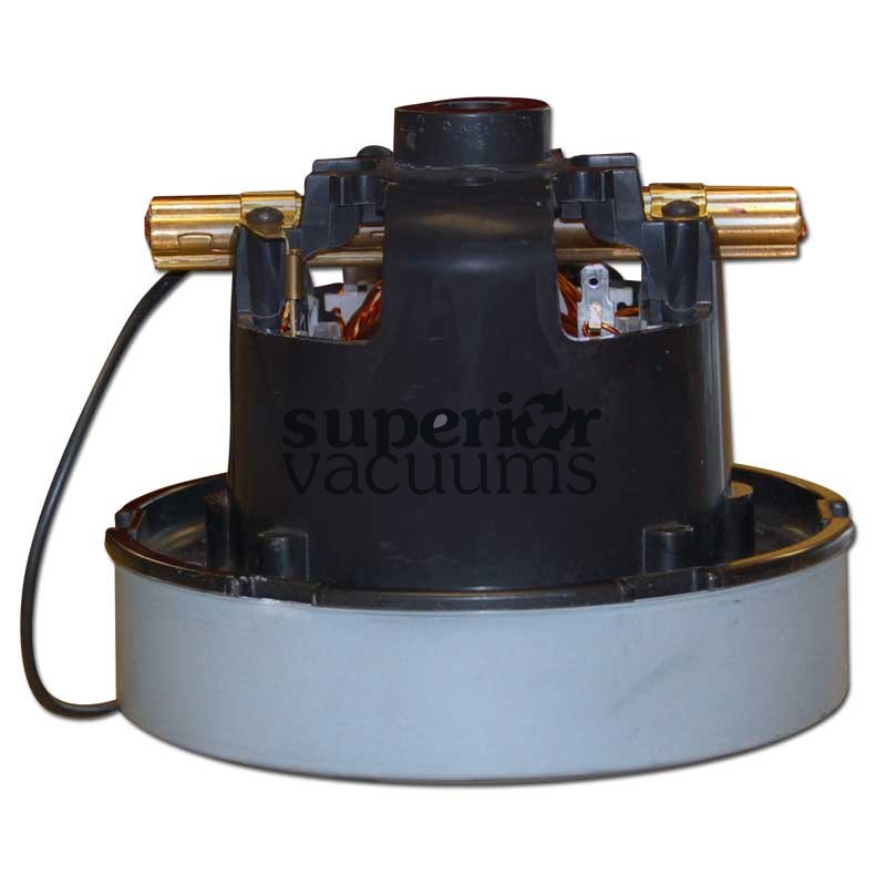 "Motor 1 Stage 5.1"", Flow Thru 120 Volt Bearing/Bearing Air Watts 4 1/2"", Tall 10.6 Amp Tappered Bottom"