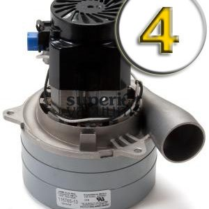 """Motor 3 Stage Bypass 5.7"""", Tangential Discharge Air Seal Epoxy Fan High Performance 110 Volt Bearing 13.5 Amps Height 8"""", Case Of 4"""