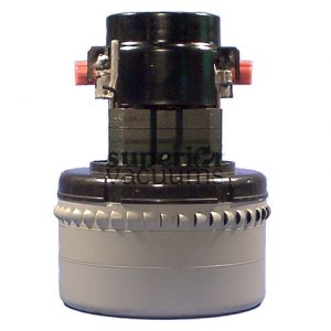 """Motor 3 Stage 36 Volt Bypass 5.7"""", Peripheral Discharge Dry Epoxy Painted Fan Case Air Sealed Bearings 20 Amps"""
