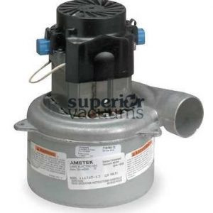 """Motor 3 Stage Bypass 5.7"""", Tangential Discharge Dry 120 Volt Epoxy Painted Fan Case Air Sealed Bearings 10.7 Amps Height 7.82"""","""