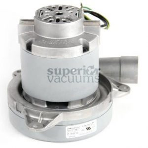 """Motor 2 Stage Bypass 7.2"""", Tangential Discharge Dry 120 Volt 10 Mm Shaft 13.5 Amps All Metal"""