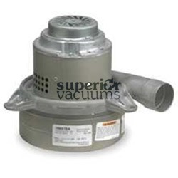 """Motor 3 Stage Bypass 7.2"""", Tangential Discharge Dry 120 Volt Epoxy Painted Fan Case 13.4 Amps"""