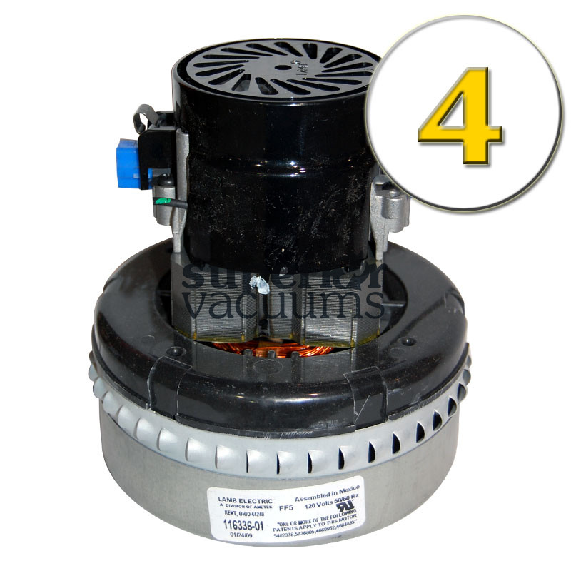 "Motor 2 Stage Bypass 5.7"", Peripheral Discharge 120 Volt Bearing Bearing 8.5 Amps Case Of 4"