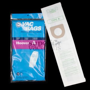 Paper Bag Type A B Top Fill 9 Pack Fits Concept Convertible Elite Legacy Decade Innovation