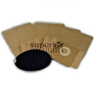 Pro Paper Bag For Tiny Tank Canister 6 Pack Cpctt 5095T