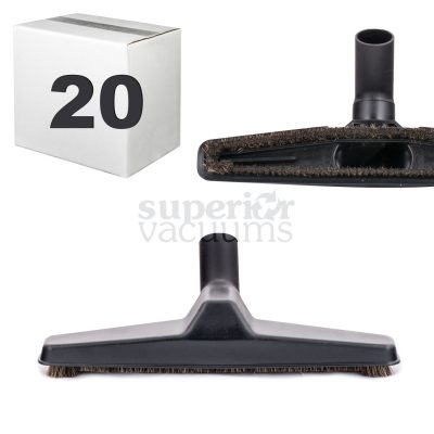 "Brush 12"" Wide Black Case Of 20"