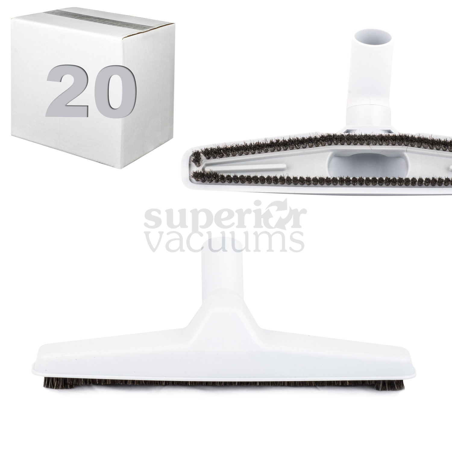 """Brush 12"""" Wide Grey Case Of 20"""