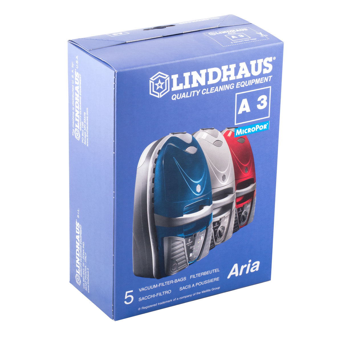 Aria A3 Canister Bag Lh1808 Micropore 5 Pack