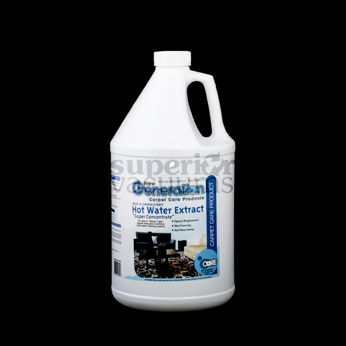 Generation Hot Water Extract Concentrate 1 Gallon Carpet And Upholstery Cleaner