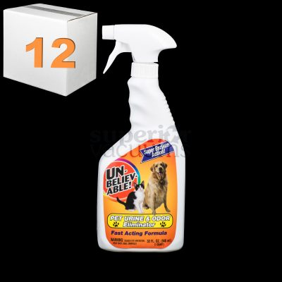 Pet Urine And Odor Eliminator 32Oz Spray 946Ml Enzyme Active Case Of 12