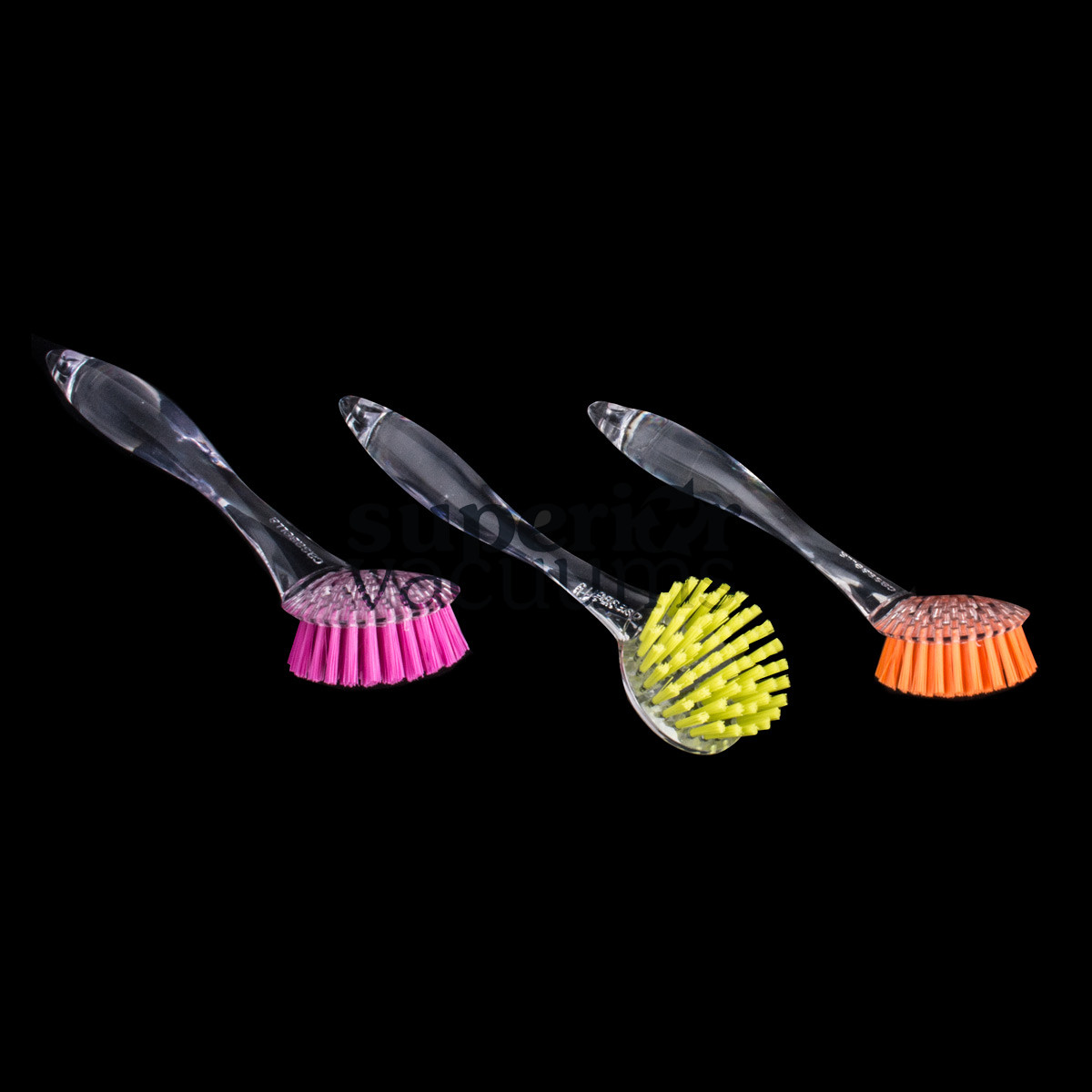 Round Brush Scrubber For Dishes