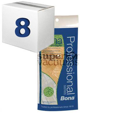 "Microplus Mop Pad 4"" X 15"" Case Of 8 With Counter Display"