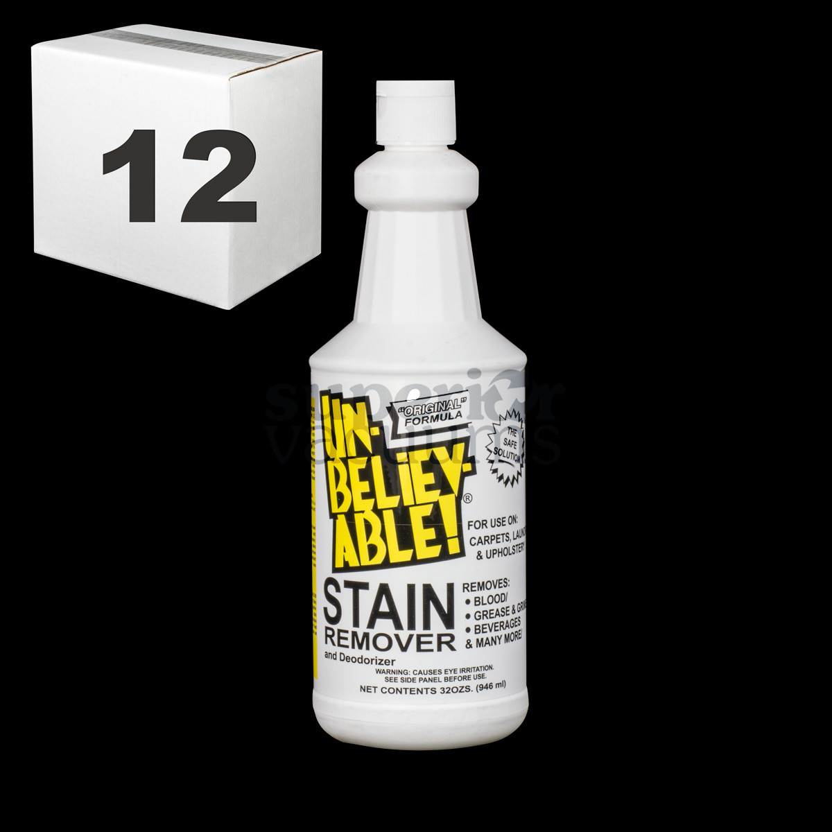 Stain Remover 32 Ounce Mutli Purpose Case Of 12