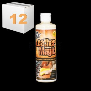Leather Magic Stain Remover 16 Ounce For Leather And Vinyl Case Of 12
