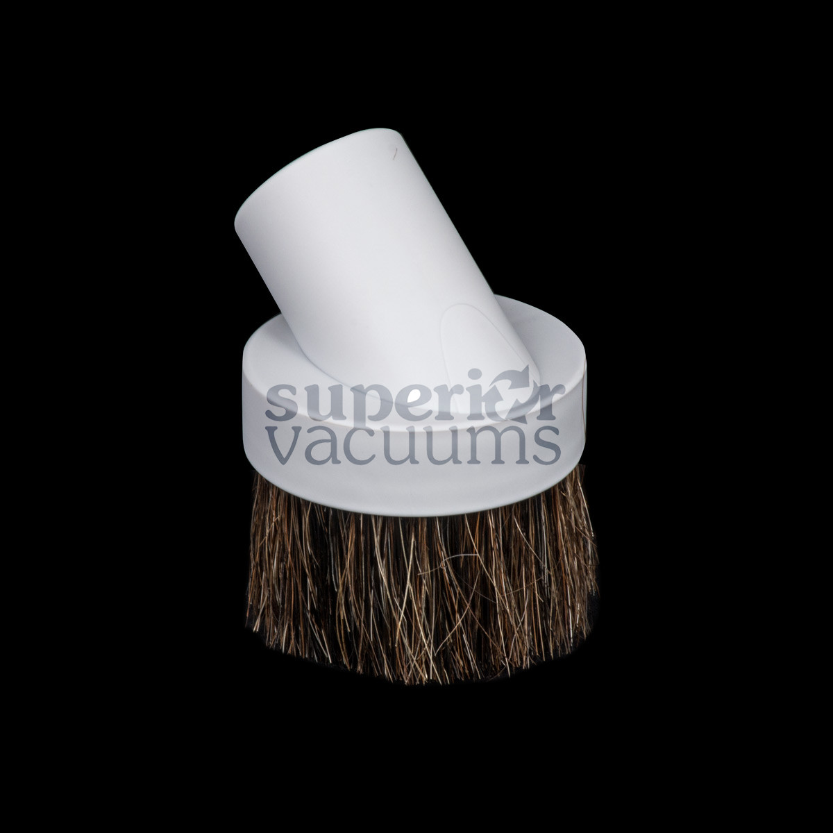 """Brush Friction Fit 1 1/4"""" Fitall Light Grey Horsehair Bristle Most Popular"""