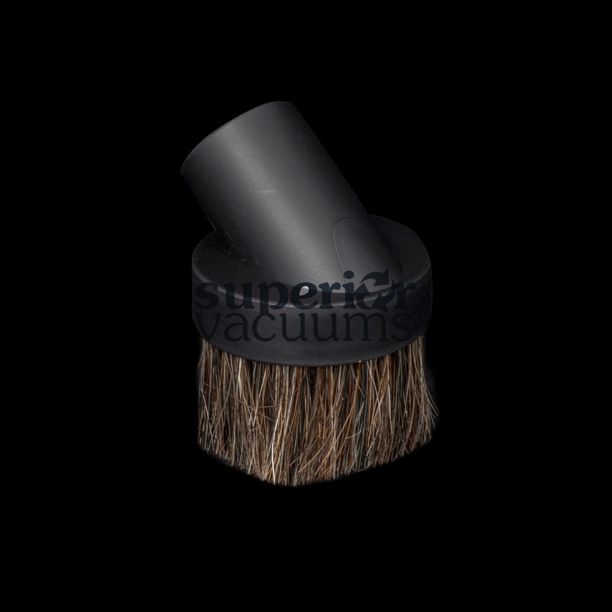 """Brush Friction Fit 1 1/4"""" Fitall Black Horsehair Bristle Most Popular"""