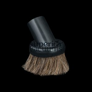 "Brush 1 1/4"" Fitall Black Natural Bristles Soft Rubber"