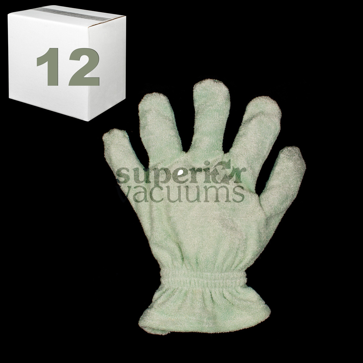 Microfiber Window Blinds Glove Mint Color Case Of 12 Includes Counter Display Holder