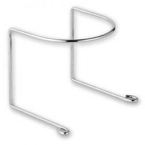 Hose Hanger Chrome Metal