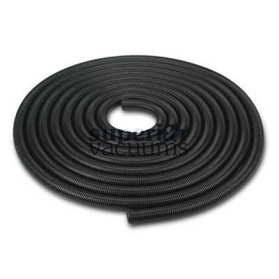 """Air Hose 50' X 1 1/2"""" Black Crushproof Commercial Single Wall"""
