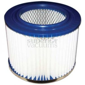 "Premier Supervac Filter Washable Series 2400 3600 6000 7"" Across 4 3/4"" To Hole 5 1/2"" High"