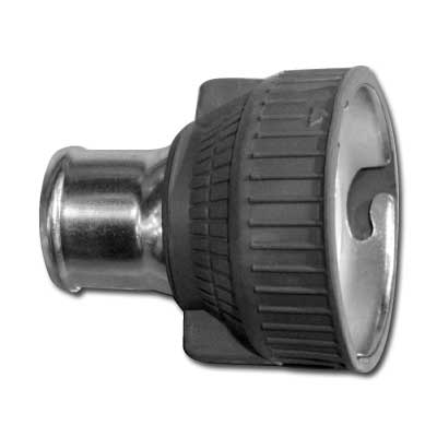 Queen Hose Adaptor Machine End Black