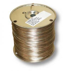 Wire 300M Clear 22 Gauge Speaker Wire Non Insulated 984 Feet